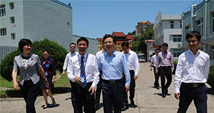 Zhou Jiangyong, Secretary of the Wenzhou municipal Party Committee, Inspected the Chengyi Pharmaceutical Co., Ltd